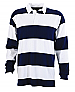 Rugby: Navy/White