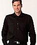 Black Shirts with Epaulette Shirts and Logo embroidery