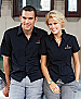Black Metro shirts for Hotels, Bars, Cafe and Hospitality