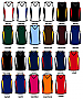 Womens Singlets 23 x colour combo's