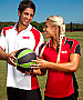 Aussie Pacific Murray #1300 Polo Shirts Red and Black