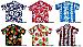 Hawaiian Shirts in various colours