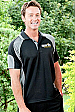 Aussie Pacific Murray #1300 Polo Shirts  Black and Ash Grey