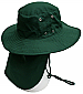 Prime Mover Work Hat with Sun Flap