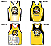 Sample Aussie Rules artwork for Training Singlets