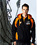 Hoodies in football and netball club colours
