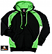 Black and Green Hoodies for teams