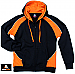 Black and Orange Hoodies for teams