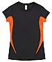 Black and Orange sports t-shirts