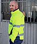 Bisley Hi Vis Softshell jackets with logo service