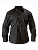 Black colour Adventure shirts with logo service