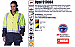 Hi Vis Jackets with Zip Off Sleeves and Logo service