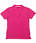 Hot Pink Polo shirts with custom embroidery