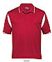 Red and White Polo shirt