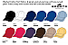 Cotton Fashion Caps- 12 colours