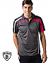 Be Seen BSP2014 Charcoal-Hot Pink and White colours