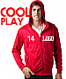 Mens Red Hoodies for your logo