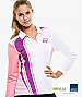 Womens Sports Uniforms-White and Pink