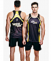 Mens Sports Singlets Sublimated Custom Orders