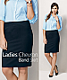 Chevron skirt is a popular choice for  Business Uniforms