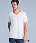 White V-Neck T-Shirts with Print Service, Sydney