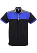 Charger Shirt-Black and Royal Ripstop fabric