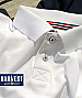 Mens White Cotton Polo for Corporate Events