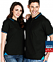 Jet Polo Shirts with Slim Collar and Logo Service at Corporate Profile
