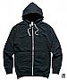 Traction Zip Hoodie 5107-Black