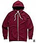 Traction Zip Hoodie 5107-Burgundy