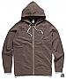Traction Zip Hoodie 5107-Brown Marle