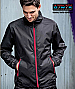 Stormtech Axis Jacket-Black/Sport Red