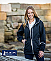 Navy Sport Jacket with White Zipper and Pocket Zips