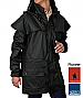 Pioneer Short Coat #TCP1714041 With Corporate Logo Service. Thomas Cook Boot and Clothing, Waterproof 3000mm, Sizes XXS, XS, SM-3XL. Available Black, Dark Brown, Navy. Double storm cuffs, mesh air vent, rivets at stress points, double storm front placket