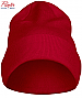 Red Beanie #2267004 With Logo Service. Available Black, Navy, Red and Steel Grey. Sewn double folded for a thick and stable feeling the only seams are on top. Comes with swing ticket and a small plastic hanger for display. One Size. 100% Acryllic.