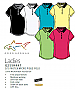 Greg Norman Ladies Polo Shirt Style #G2S5K447 Protek Micro Pique Polo Shirt With Logo Service. 6 Colours. Fine pique texture, Microfibre yarn, Moisture Wicking, Easy Care, Aerated knit collar, UPF 50+. For all the details please call Renee Kinnear or Shel
