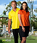 Flinders Polo Shirt #1308 Yellow With Logo Service