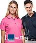 Premium quality, corporate polo shirts with logo service...popular for staff uniforms, special events, trade show presentations. The AERO Polo Shirt, #SPAERO is available in 12 colours, Mens and Ladies. We provide high quality embroidery presentation of y
