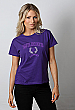 Womens Surf T Shirt: Purple