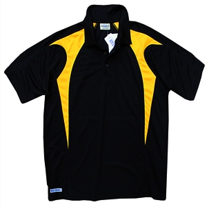 Black and Gold Polo Shirts