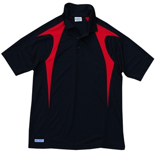 Black and Red Polo Shirts
