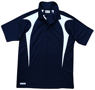 Navy and White Polo Shirts