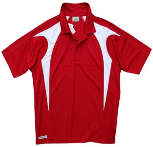 Red and White Polo shirts