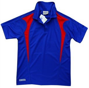 Royal and Red Polo Shirts