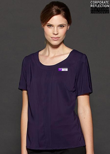 Grape Womens Uniform Top, Corporate