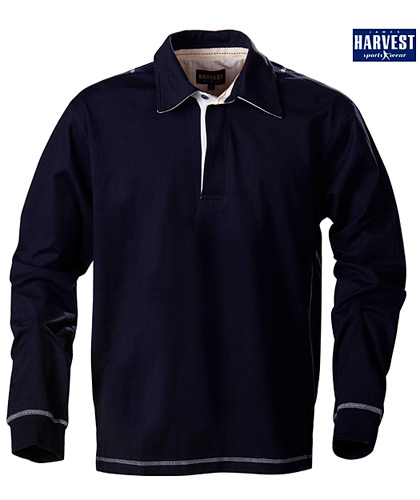 Harvest Sportswear Lakeport Rugby shirts-Navy