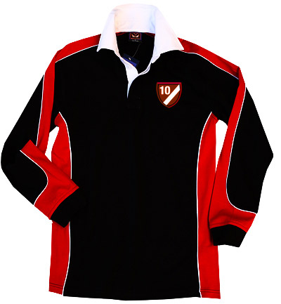 Rugby: Black/Red