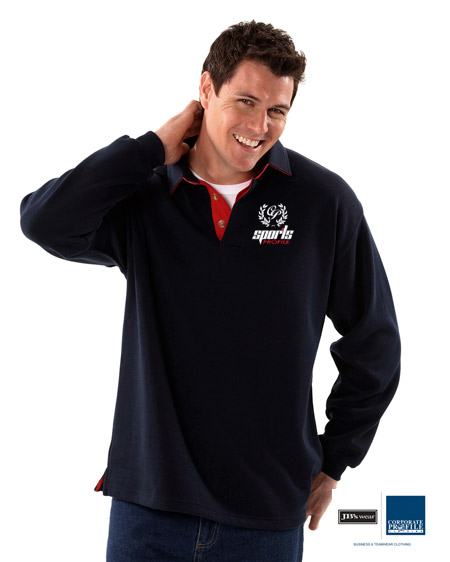 Rugby's: Navy/Red