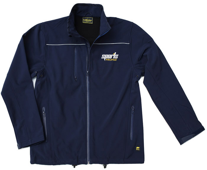 Bisley Soft Shell Jacket: Navy