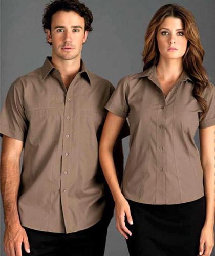 Mocha Shirts: Short and Long sleeves